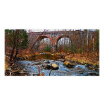 Double Arch Bridge Photo Greeting Card