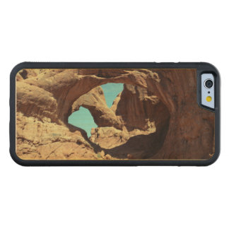 Double Arch Carved Maple iPhone 6 Bumper Case