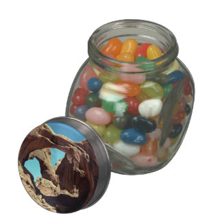 Double Arch Jelly Belly Candy Jar
