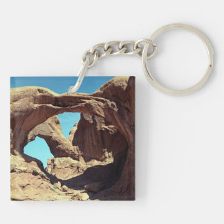 Double Arch keychain Square Acrylic Keychains
