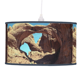 Double Arch Ceiling Lamp