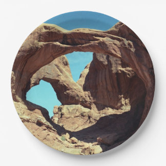 Double Arch 9 Inch Paper Plate