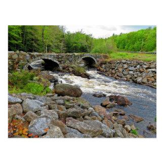 Double Arch Stone Bridge Postcard