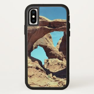 Double Arch with Blue Sky iPhone Case