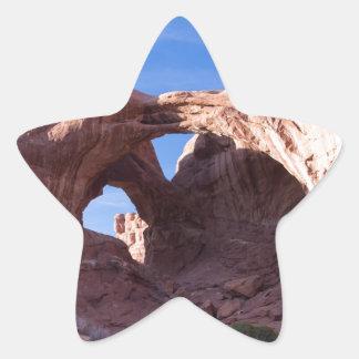 Double Arches Star Sticker