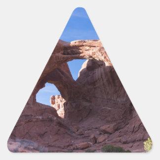 Double Arches Triangle Sticker