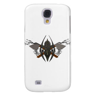 DOuble Axe Clean Swipe Crest Galaxy S4 Cover