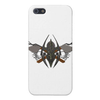 DOuble Axe Clean Swipe Crest iPhone SE/5/5s Cover