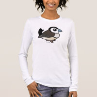 Double-barred Finch Women's Basic Long Sleeve T-Shirt