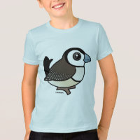 Double-barred Finch Kids' American Apparel Fine Jersey T-Shirt