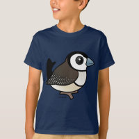 Double-barred Finch Kids' Hanes TAGLESS® T-Shirt