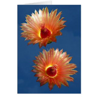 DOUBLE BARREL CACTUS CARD