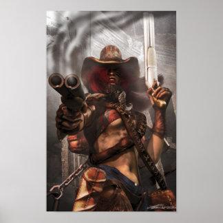 """Double Barrel Thunder"" Poster"