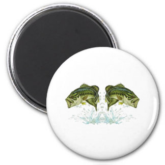 Double Bass 2 Inch Round Magnet