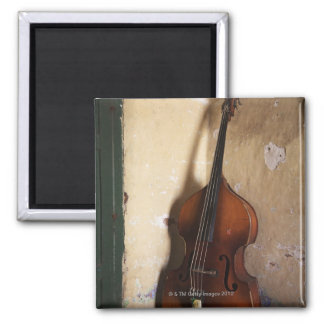 Double Bass 2 Inch Square Magnet