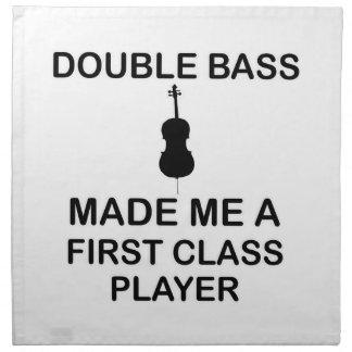 double bass design napkin