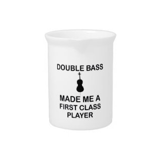 double bass design pitcher