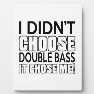 DOUBLE BASS DESIGNS DISPLAY PLAQUES
