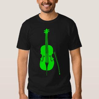 Double Bass - Green Shirt