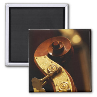 Double bass headstock 2 2 inch square magnet