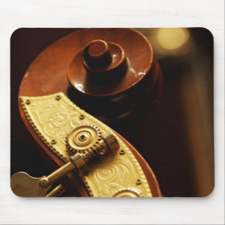 Double bass headstock 2 mouse pad