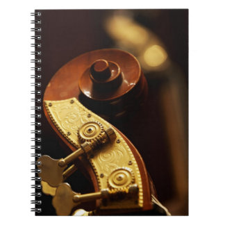 Double bass headstock 2 notebook