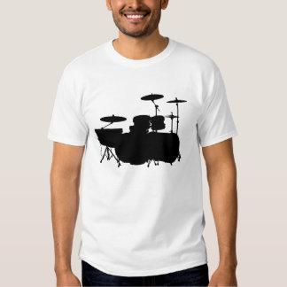 Double Bass II - Black on Light Shirt