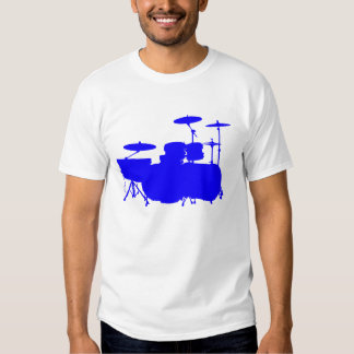 Double Bass II - Blue T-Shirt