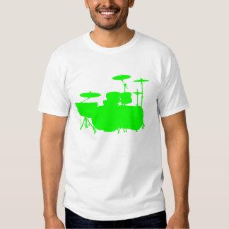 Double Bass II - Lime Green T-Shirt