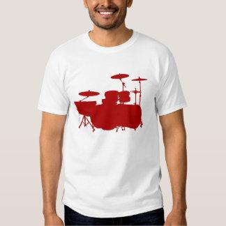 Double Bass II - Maroon Shirt