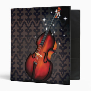 Personalize Your Own String Bass Binder Stay Organized Today Zazzle