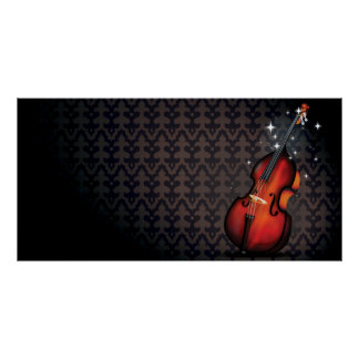 Double Bass Magic Poster