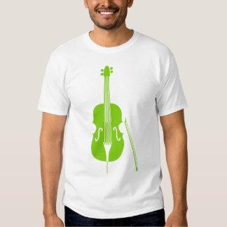 Double Bass - Martian Green Tee Shirt
