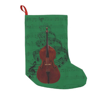 Double Bass Music Stocking