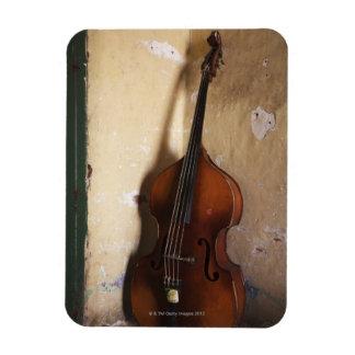 Double Bass Rectangular Photo Magnet