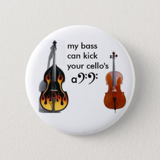 Double bass vs. cello button