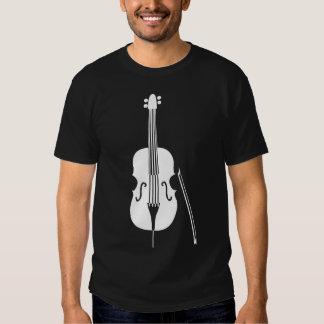 Double Bass - White T Shirt