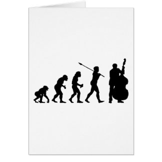 Double Bassist Card
