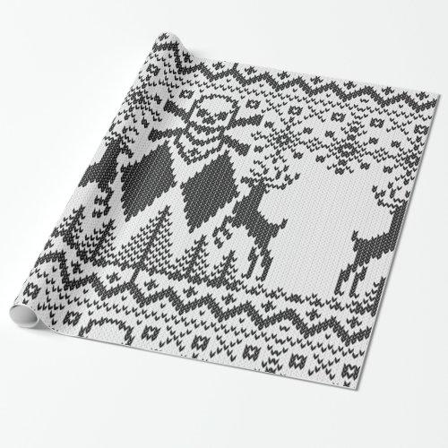 Double Black Diamond Crossbones Extreme Knit