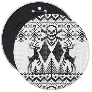 Double Black Diamond Crossbones Extreme Ugly Buttons