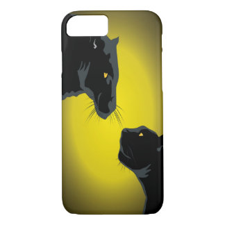 Double Black Panthers iPhone 7 Case