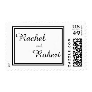 Double Black Trim - Postage Stamp