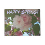 Double Blossoming Cherry Tree I Spring Floral Doormat