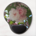 Double Blossoming Cherry Tree I Spring Floral Gel Mouse Pad