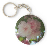 Double Blossoming Cherry Tree I Spring Floral Keychain