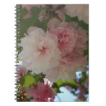 Double Blossoming Cherry Tree I Spring Floral Notebook