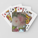 Double Blossoming Cherry Tree I Spring Floral Playing Cards