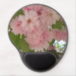 Double Blossoming Cherry Tree II Pink Spring Gel Mouse Pad