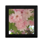 Double Blossoming Cherry Tree II Pink Spring Jewelry Box