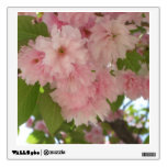 Double Blossoming Cherry Tree II Pink Spring Wall Sticker